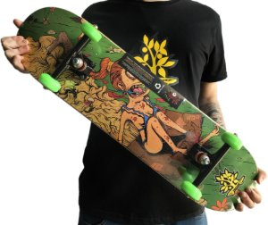 SKATE WOOD LIGHT - PAPELÃO