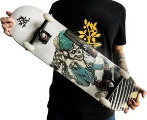 SKATE WOOD LIGHT - CAVEIRA