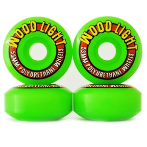 Roda Wood Light 53mm Verde