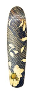 SHAPE LONGBOARD FREERIDE - FLOWER