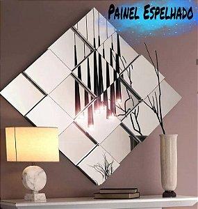 Painel Espelhado Decorativo Losango