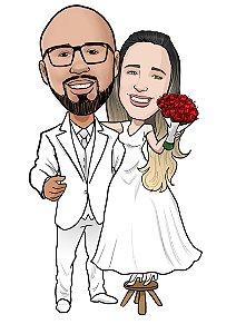 Caricatura de Casal