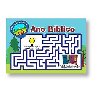 ANO BÍBLICO AVENTUREIROS 2021