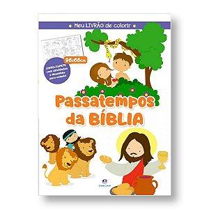 MEU LIVRÃO DE COLORIR PASSATEMPOS DA BÍBLIA