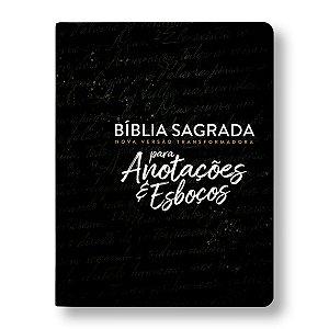 BÍBLIA NVT ANOTAÇÕES E ESBOÇOS PRETA