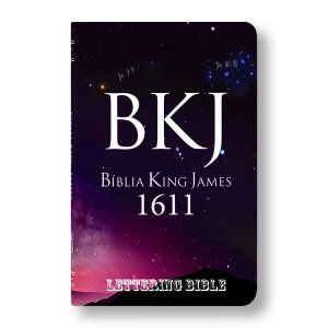 BÍBLIA KING JAMES ULTRAFINA - BKJ LETTERING BIBLE UNIVERSO