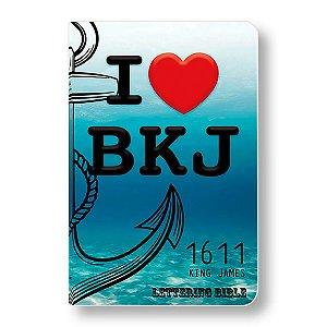 BÍBLIA KING JAMES ULTRAFINA - BKJ LETTERING BIBLE I LOVE BKJ