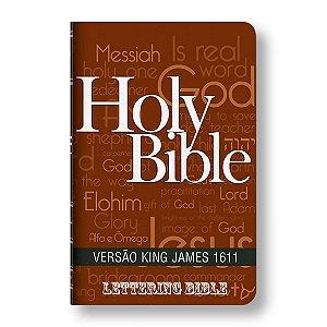BÍBLIA KING JAMES ULTRAFINA - BKJ LETTERING BIBLE HOLY BIBLE