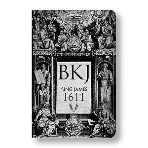BÍBLIA KING JAMES ULTRAFINA - BKJ LETTERING BIBLE RETRO