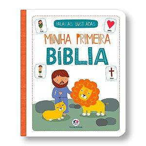 MINHA PRIMEIRA BÍBLIA DE PALAVRAS ILUSTRADAS