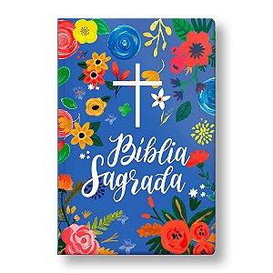 BÍBLIA NVT SEMILUXO LETRA NORMAL CÉU AZUL