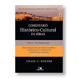 COMENTÁRIO HISTÓRICO-CULTURAL DA BÍBLIA - NOVO TESTAMENTO