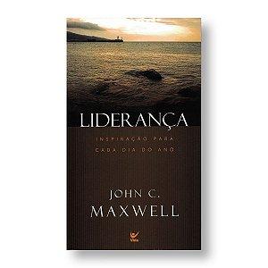 LIDERANÇA: INSPIRAÇÃO PARA CADA DIA DO ANO - LIVRO DE BOLSO - JOHN C. MAXWELL