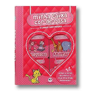MINHA CAIXA COR-DE-ROSA - BOX COM 6 VOLUMES