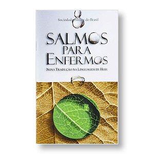 SALMOS PARA ENFERMOS - LIVRETO PORÇÕES BÍBLICAS NTLH