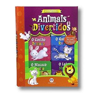 ANIMAIS DIVERTIDOS - BOX COM 6 VOLUMES