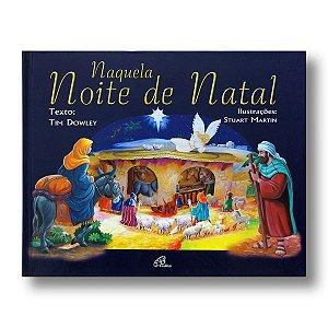 NAQUELA NOITE DE NATAL LIVRO POP-UP