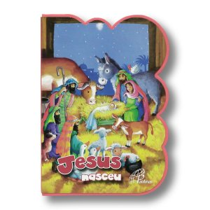 JESUS NASCEU - LIVRO EM E.V.A