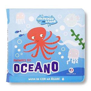 COLORINDO NO BANHO ANIMAIS DO OCEANO
