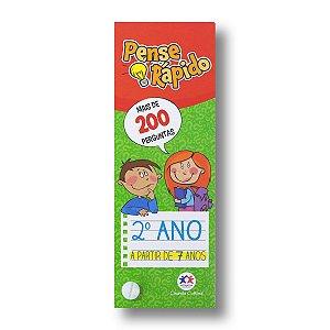 PENSE RÁPIDO: FLASH CARDS 2. ANO