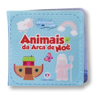COLORINDO NO BANHO ANIMAIS DA ARCA DE NOÉ