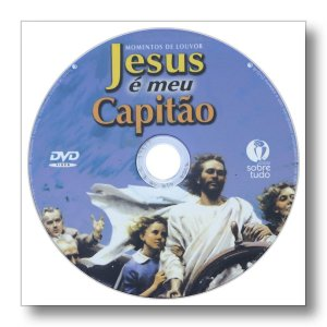 MOMENTOS DE LOUVOR JESUS É MEU CAPITÃO - EMBALAGEM ENVELOPE PLÁSTICO
