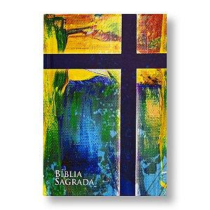 BÍBLIA NA63 LETRA NORMAL CAPA DURA MUDE O BRASIL PELA BÍBLIA