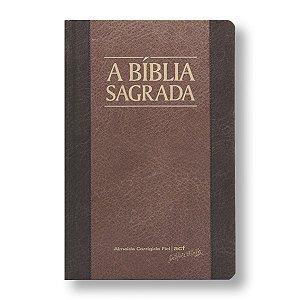 BÍBLIA ACF SLIM LETRA MÉDIA CAPA DURA CHOCOLATE