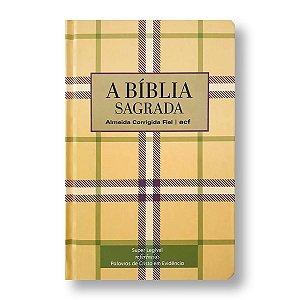 BÍBLIA ACF SUPER LEGÍVEL COM REFERÊNCIAS CAPA DURA XADREZ
