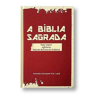 BÍBLIA ACF SUPER LEGÍVEL COM REFERÊNCIAS CAPA DURA FÉ