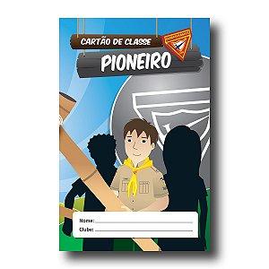 REGISTRO DE CLASSE: PIONEIRO