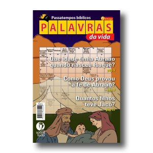 PASSATEMPOS BÍBLICOS PALAVRAS DA VIDA - ÔMEGA 2