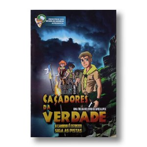 ESTUDO BIBLICO DESBRAVADORES - CACADORES DA VERDADE - 13 A 15 ANOS