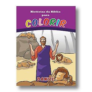 HISTÓRIAS DA BÍBLIA PARA COLORIR DANIEL