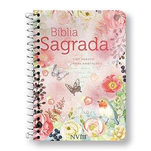 BÍBLIA NVI ANOTE - ESPIRAL CAPA CLÁSSICA VIRTUOSA