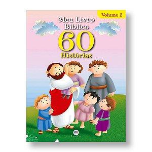 MEU LIVRO BÍBLICO 60 HISTÓRIAS - NOVO TESTAMENTO - VOL 2