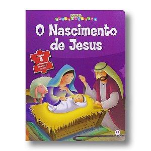 LIVRO QUEBRA-CABEÇA: O NASCIMENTO DE JESUS