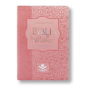BÍBLIA DA MULHER RA065BMRA2 3 CAPA ROSA CLARO