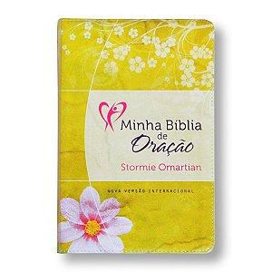 MINHA BÍBLIA DE ORAÇÃO - NVI FLORES