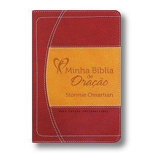 MINHA BÍBLIA DE ORAÇÃO - NVI VINHO E LARANJA
