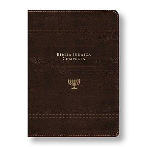 BÍBLIA JUDAICA COMPLETA LX ONETONE - MARROM