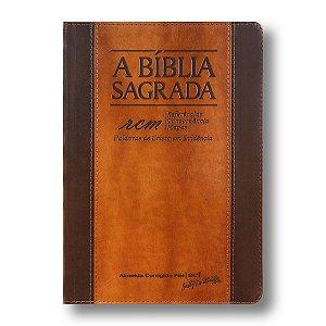 BÍBLIA ACF GRANDE RCM CHOCOLATE E HAVANA ÍNDICE