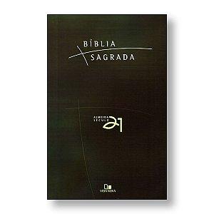 BÍBLIA ALMEIDA 21 BROCHURA VERDE REFERÊNCIAS CRUZADAS