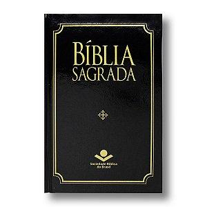 BÍBLIA ARC63M MISSIONÁRIA CAPA DURA PRETA