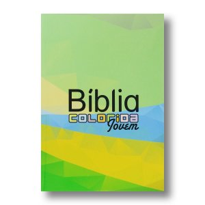 BÍBLIA COLORIDA JOVEM CAPA BROCHURA BRASIL
