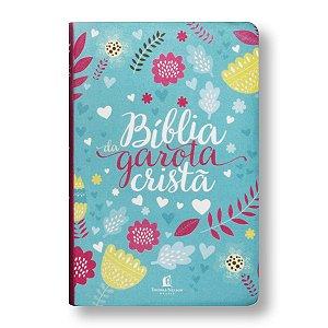 BÍBLIA NTLH DA GAROTA CRISTÃ CAPA TECIDO