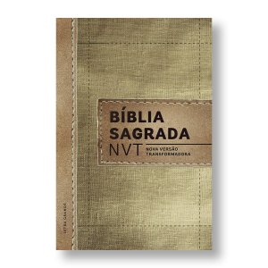 BÍBLIA NVT LETRA GRANDE CAPA DURA - LINHO