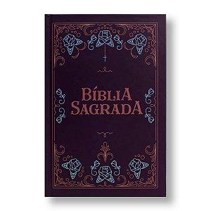 BÍBLIA NVT LETRA NORMAL CAPA DURA - ORNAMENTOS