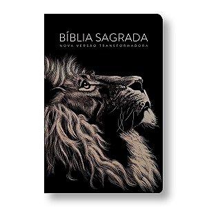BÍBLIA NVT LETRA GRANDE CAPA DURA - LION HEAD (LEAO)