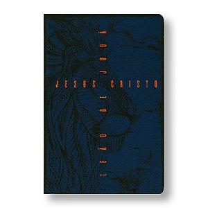 BÍBLIA NVT - LETRA GRANDE ST - LEÃO DE JUDÁ AZUL